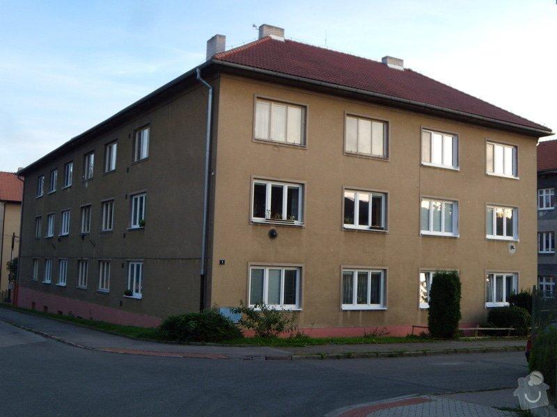 Revize hromosvodů na bytovém domě: DSCN5347