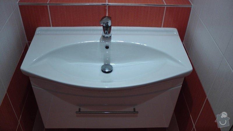 Kompletní rekonstrukce koupelny: 201-09