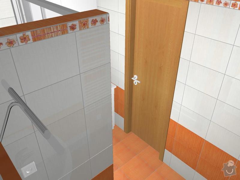 Kompletní rekonstrukce koupelny: 3D-02