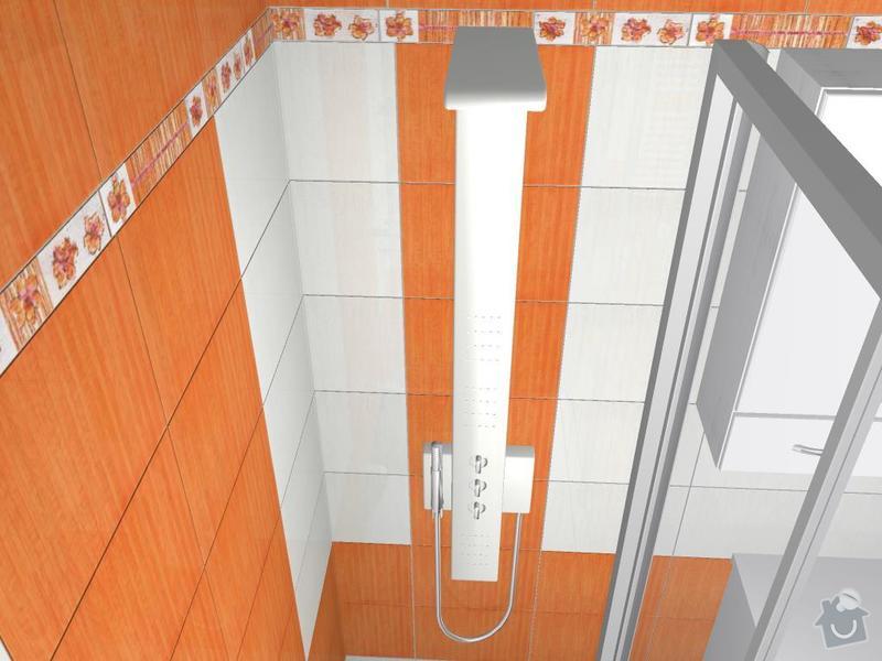 Kompletní rekonstrukce koupelny: 3D-05