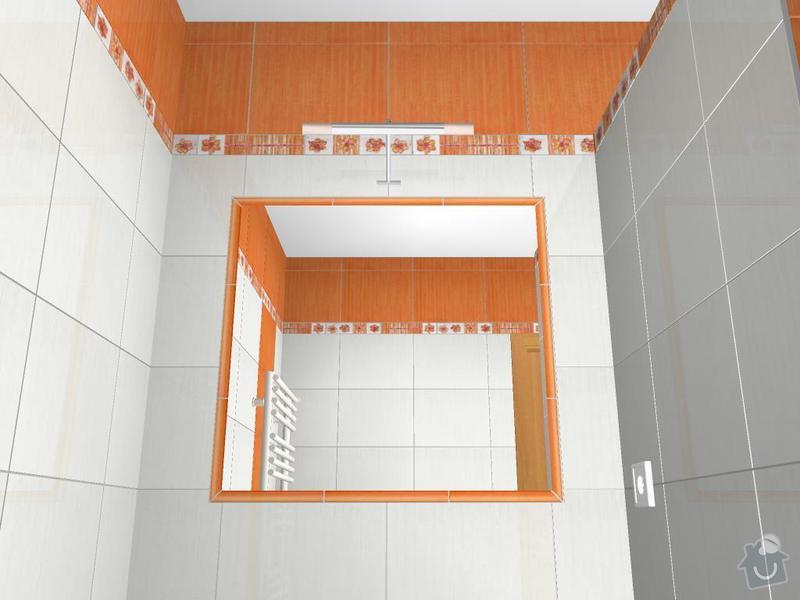 Kompletní rekonstrukce koupelny: 3D-08