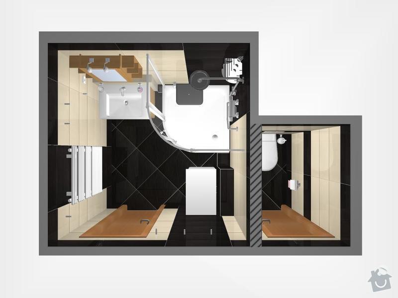 Kompletní rekonstrukce bytu 3+1: 3D-01-Geo
