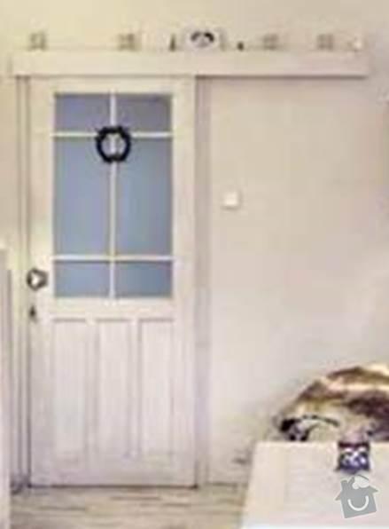 Výroba posuvných dveří na stěnu - patina: posuvne_dvere