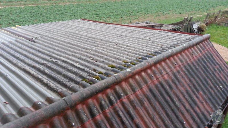 Pokrývačské práce - pokrytí střechy: 1