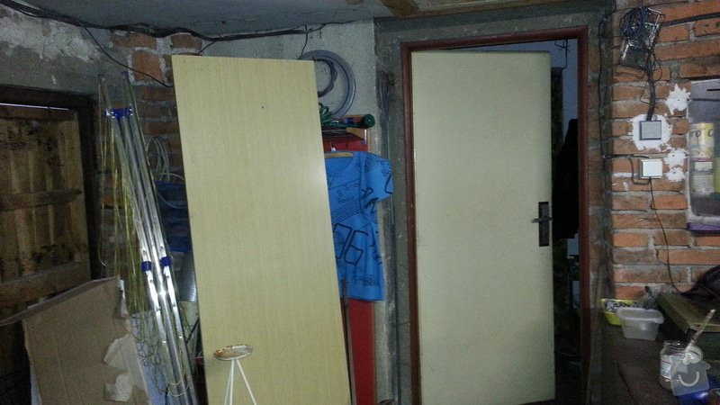 Zednické práce - nahození stěn a zazdění vrat: 4