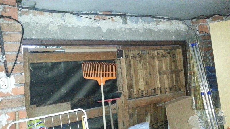 Zednické práce - nahození stěn a zazdění vrat: 5