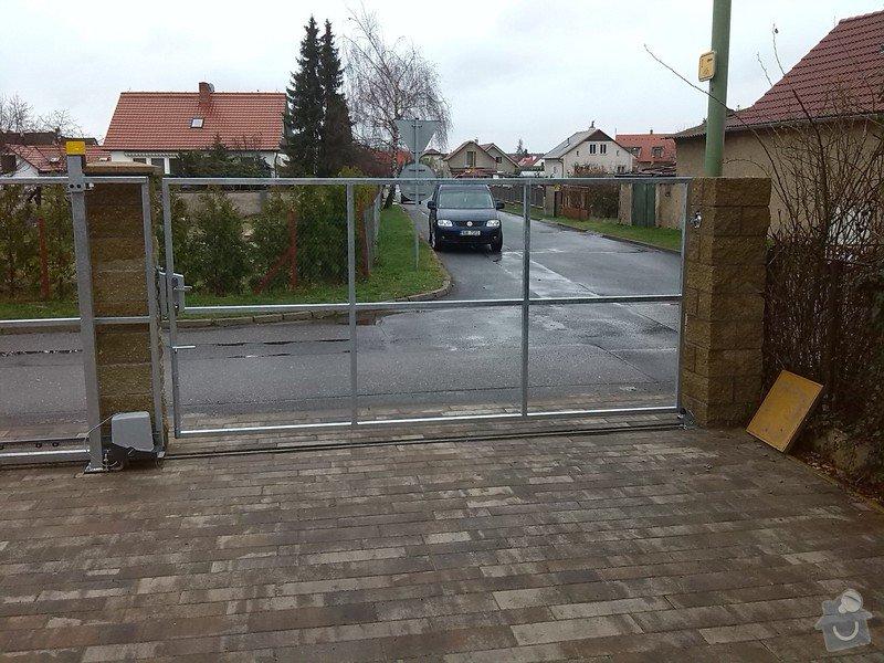 Branka,pojezdová brána,manuální brána.: IMG_20140324_092242