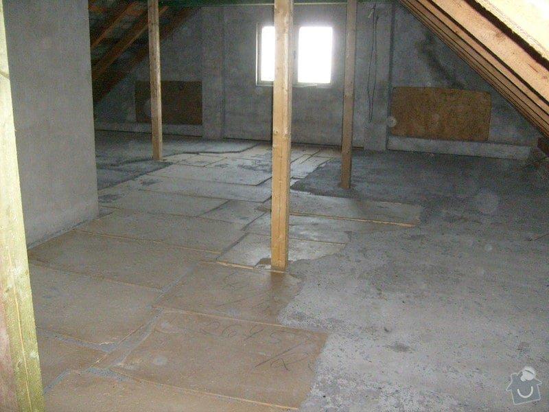 Anhydridovou podlahu na půdě cca. 80m2: S6303285