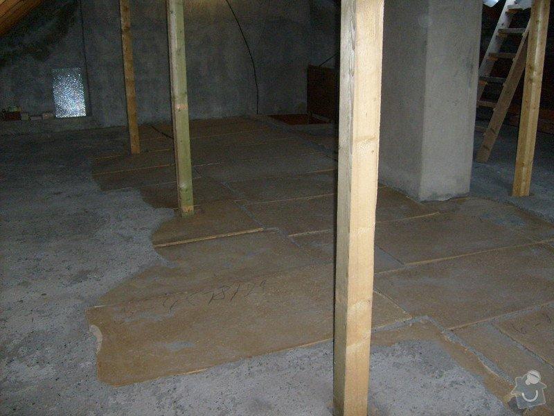 Anhydridovou podlahu na půdě cca. 80m2: S6303286