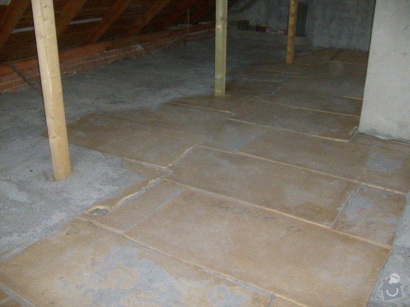 Anhydridovou podlahu na půdě cca. 80m2: S6303287