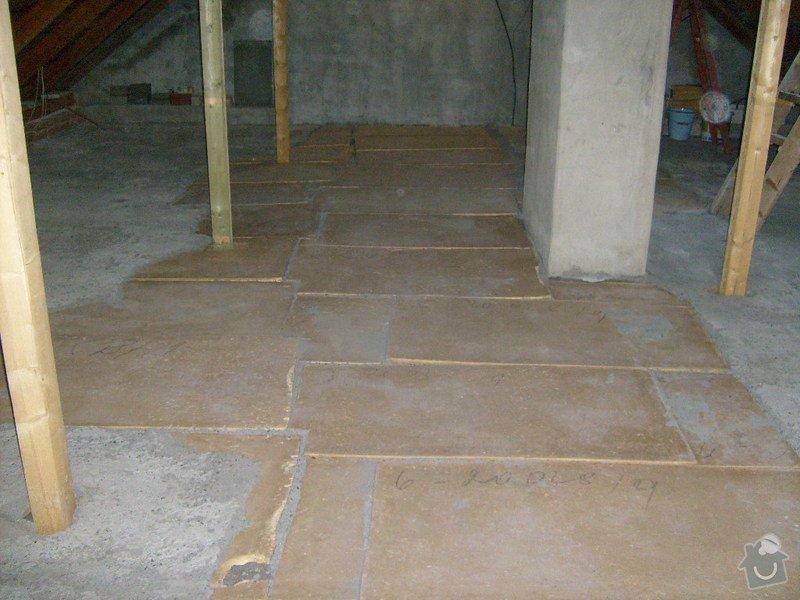 Anhydridovou podlahu na půdě cca. 80m2: S6303288
