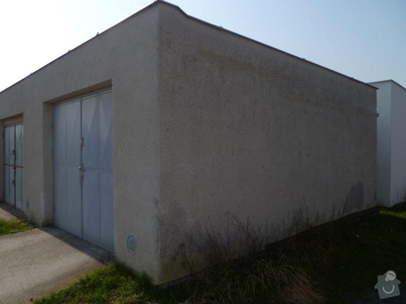 Rekostrukce střechy garáže: 2013-03-30_garaz_002