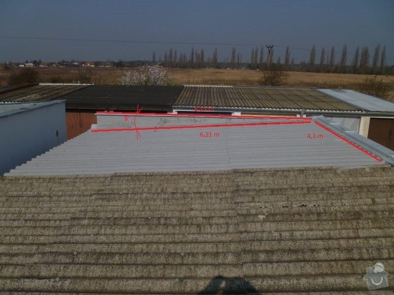 Rekostrukce střechy garáže: 2013-03-30_garaz_004