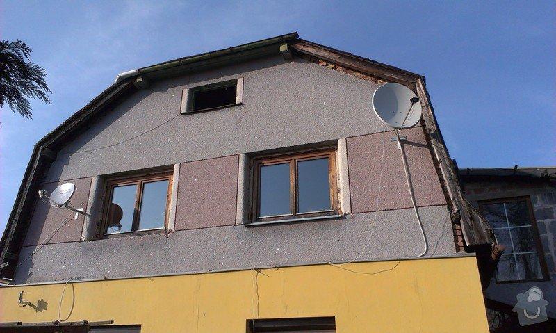 Zhotovení nové střechy.: IMAG0597