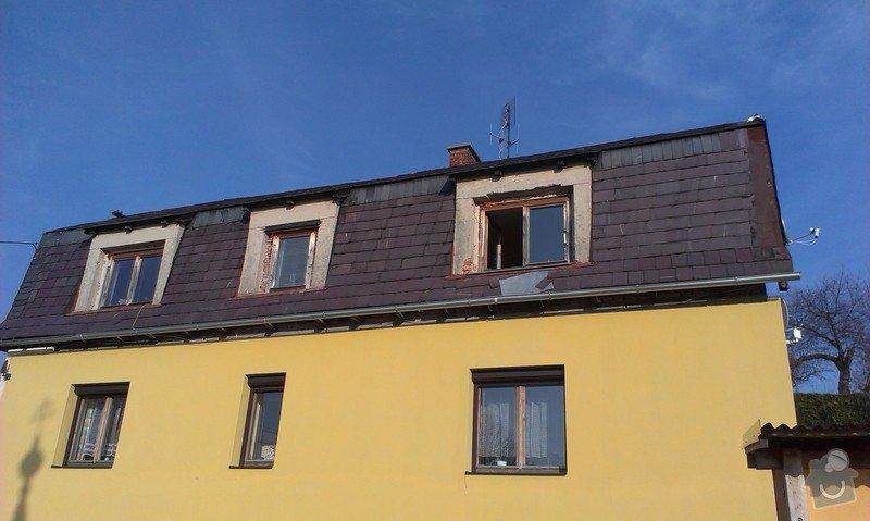 Zhotovení nové střechy.: IMAG0598