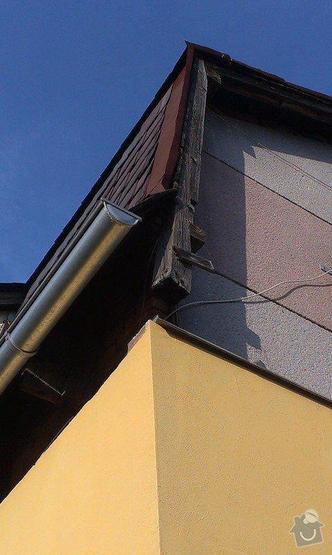 Zhotovení nové střechy.: IMAG0600