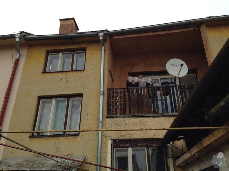Venkovní omítka rodinného jednopodlažního domu asi 80 m2: image