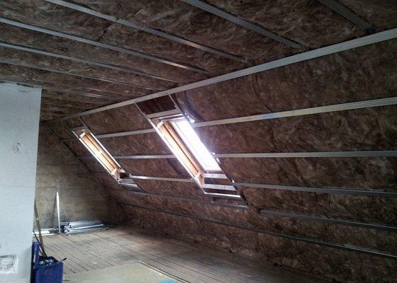 Montáže sádrokartonu,půdní vestavba,izolace Knauf,suché podlahy Fermacell,plovoucí podlaha,elektrikářské práce