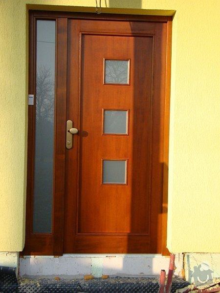 Dodávka samonosného schodiště a interiérových dveří: DSC08234-023