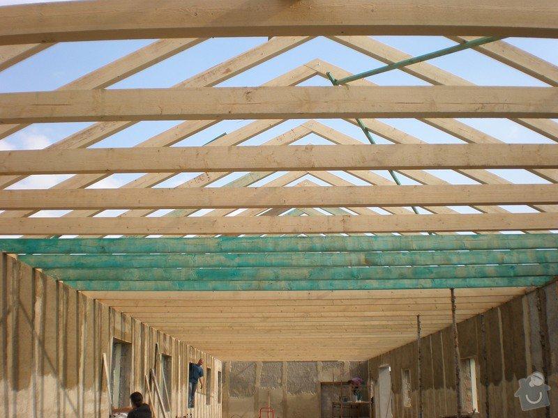 Výroba dřevěného krovu vč.dřevěného stropu,výroba zastřešené pergoly: P4030008