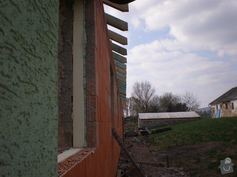 Výroba dřevěného krovu vč.dřevěného stropu,výroba zastřešené pergoly: P4030013