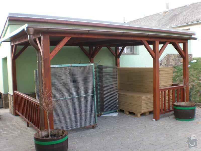 Výroba dřevěného krovu vč.dřevěného stropu,výroba zastřešené pergoly: P4030018