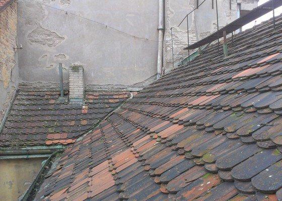 Kompletní rekonstrukce střechy činžovního domu