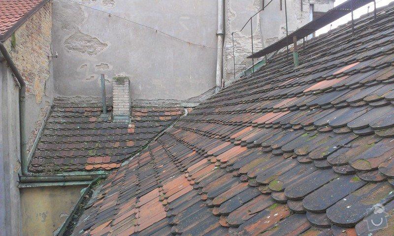 Kompletní rekonstrukce střechy činžovního domu: IMAG3335
