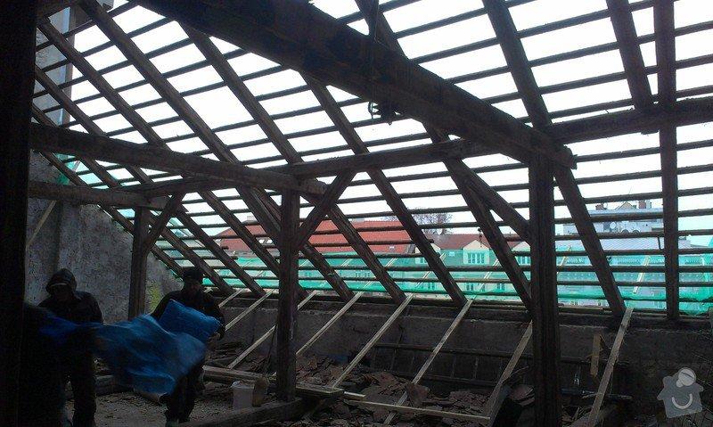 Kompletní rekonstrukce střechy činžovního domu: IMAG3339