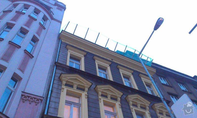 Kompletní rekonstrukce střechy činžovního domu: IMAG3341