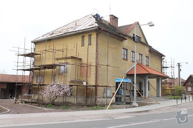 Polyfunkční dům - rekonstrukce a zateplení fasády: D1