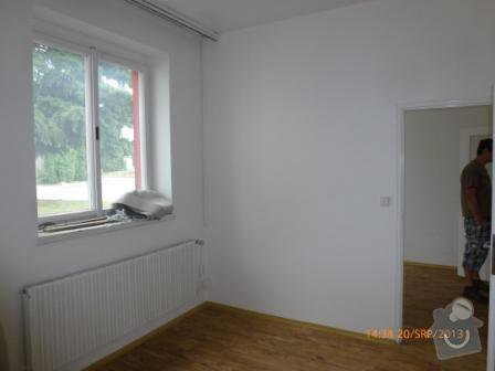 Rolety do pěti veřejí oken, bez vrtání: okno2