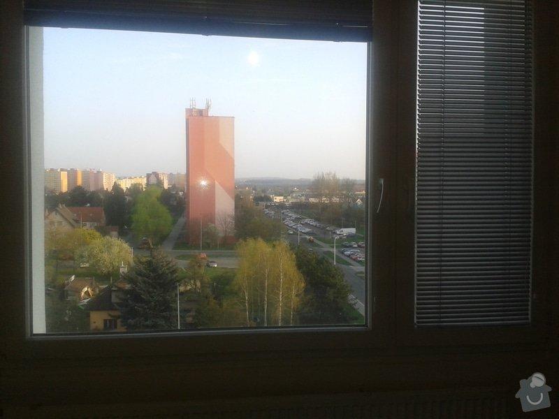 Plastový parapet pod okna: 20140402_183731