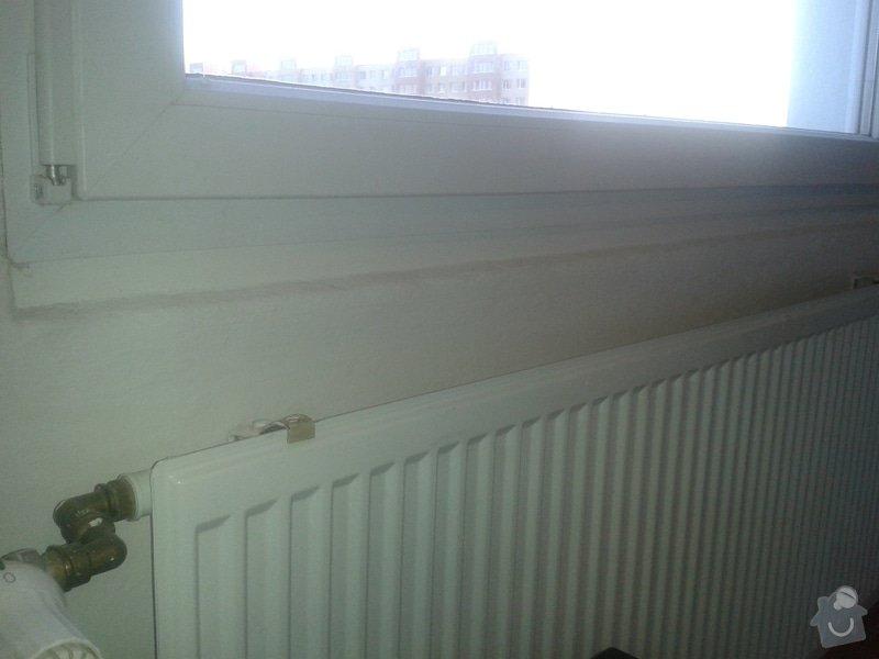 Plastový parapet pod okna: 20140402_183815