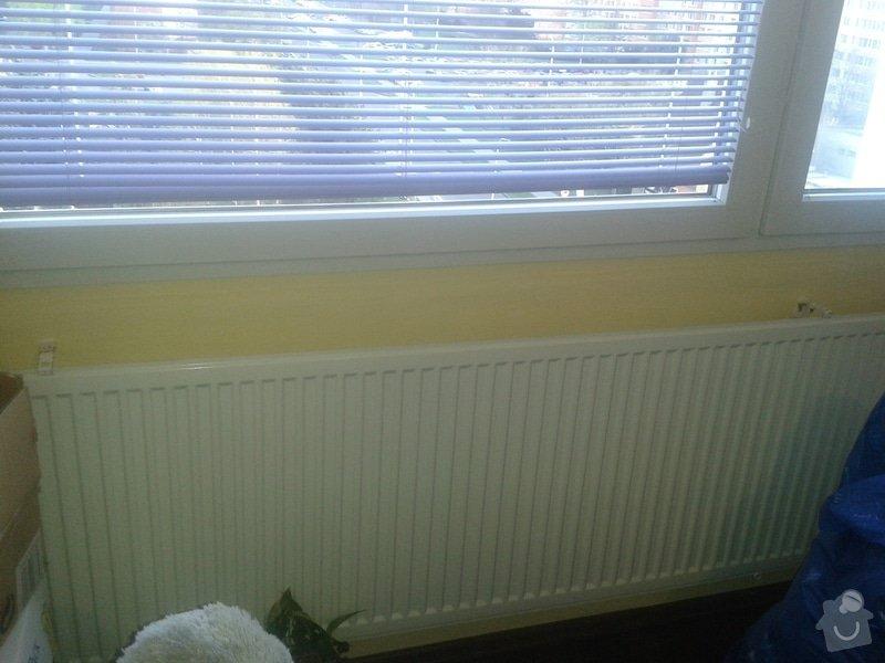 Plastový parapet pod okna: 20140402_184006