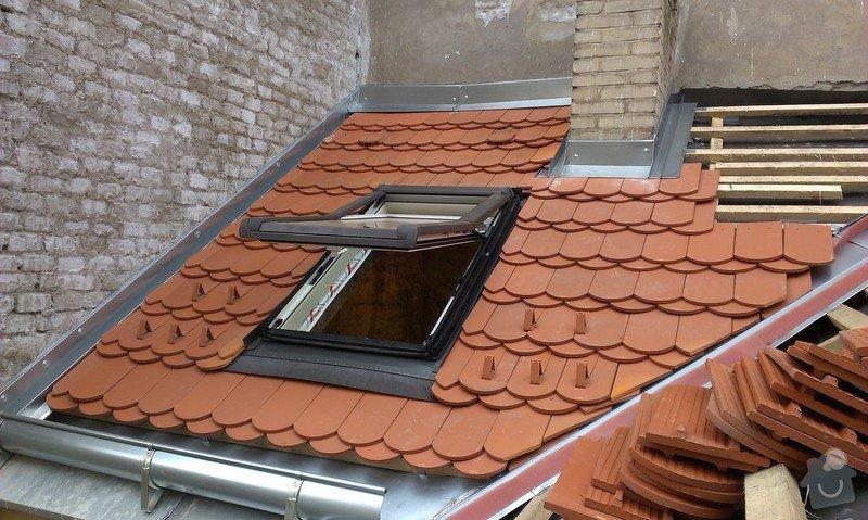 Kompletní rekonstrukce střechy činžovního domu: IMAG0094