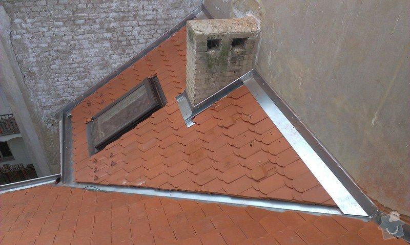 Kompletní rekonstrukce střechy činžovního domu: IMAG0121