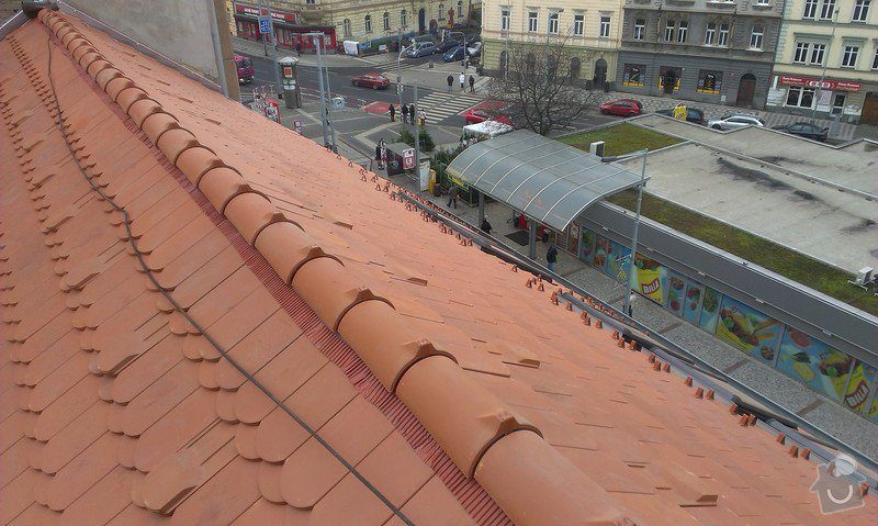 Kompletní rekonstrukce střechy činžovního domu: IMAG0127