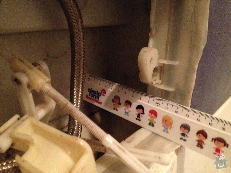 Oprava toalety s podomitkovou nadrzkou: wc5