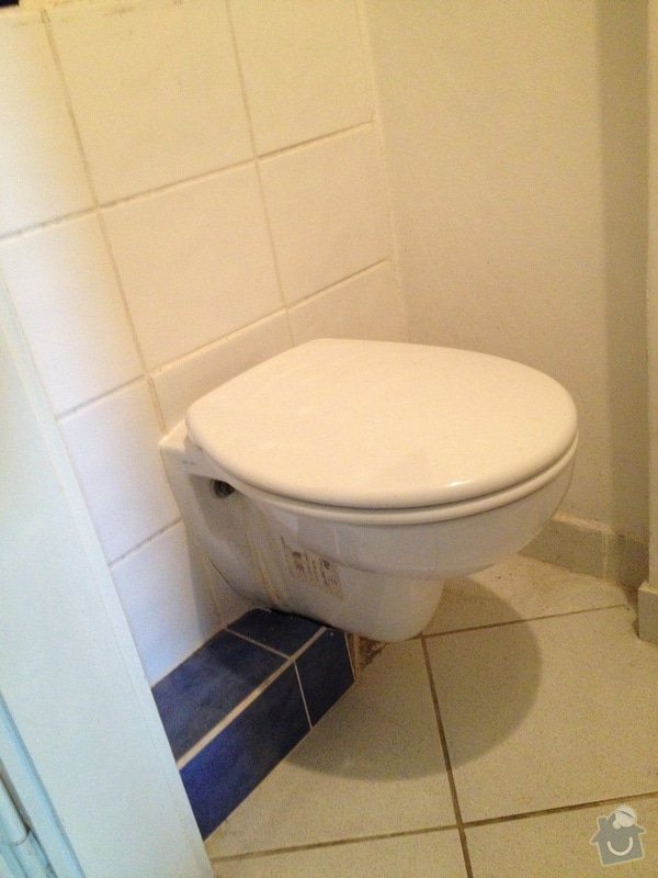 Oprava toalety s podomitkovou nadrzkou: wc3