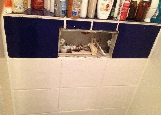 Oprava toalety s podomitkovou nadrzkou