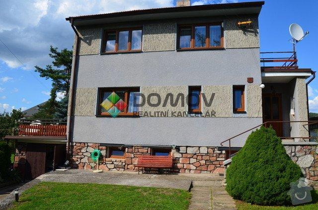 Elektrorekonstrukci rodinneho domu: 01_Dum_pohled_zepredu