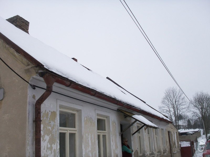 Rekonstrukce staré střechy: PICT3829