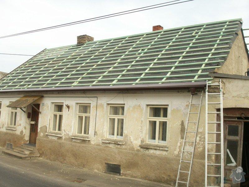 Rekonstrukce staré střechy: PICT3887