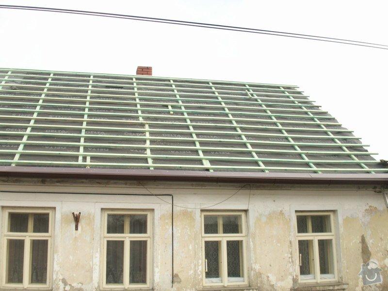 Rekonstrukce staré střechy: PICT3888