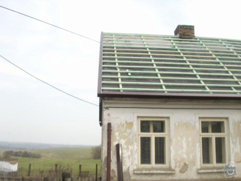 Rekonstrukce staré střechy: PICT3889