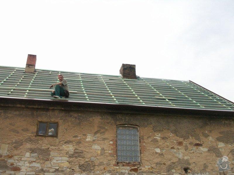 Rekonstrukce staré střechy: PICT3891