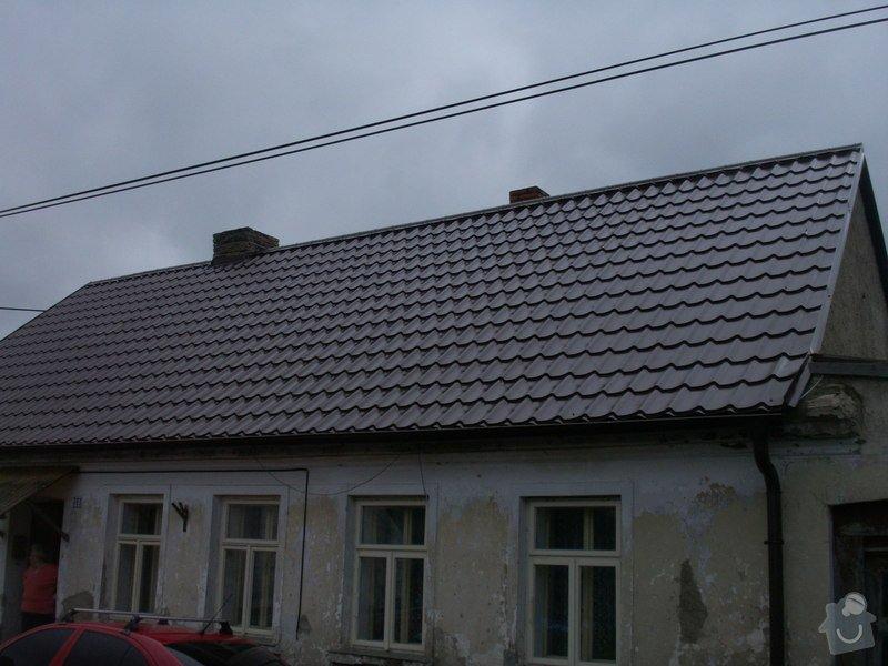 Rekonstrukce staré střechy: PICT3904