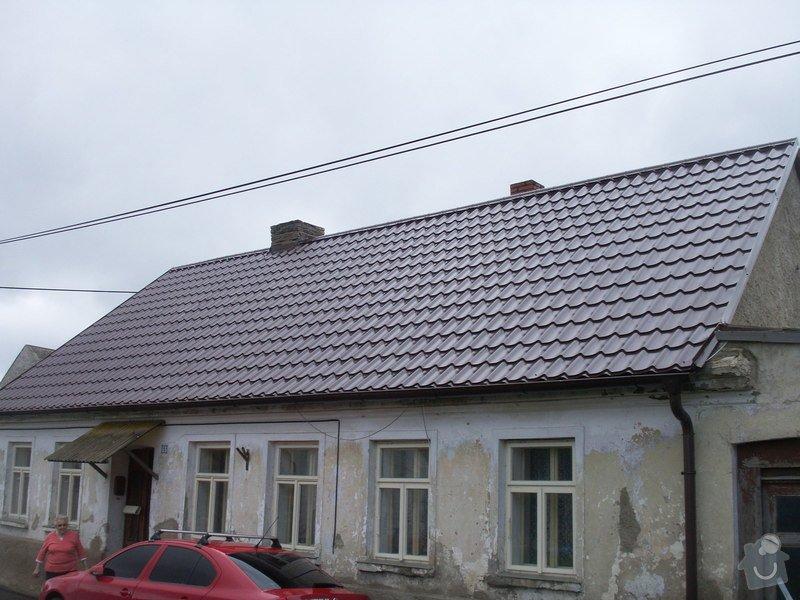 Rekonstrukce staré střechy: PICT3905