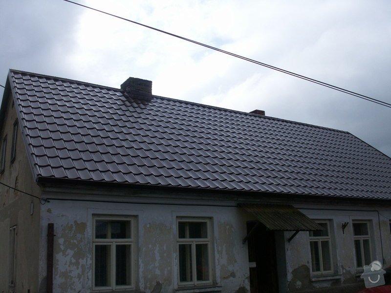 Rekonstrukce staré střechy: PICT3906